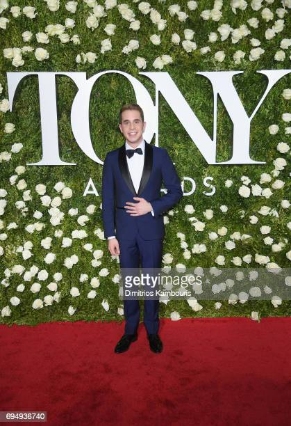 Ben Platt attends the 2017 Tony Awards at Radio City Music Hall on June 11 2017 in New York City
