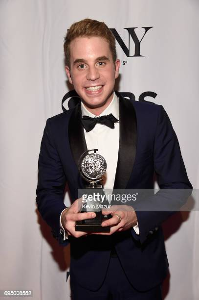 Ben Platt attends the 2017 Tony Awards at Radio City Music Hall on June 11 2017 in New York City