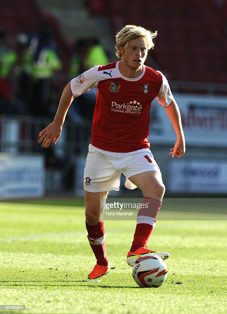 Ben Pringle of Rotherham United during the Sky Bet League One match between Rotherham United and Peterborough United at The New York Stadium on September 28, 2013 in Rotherham, England.
