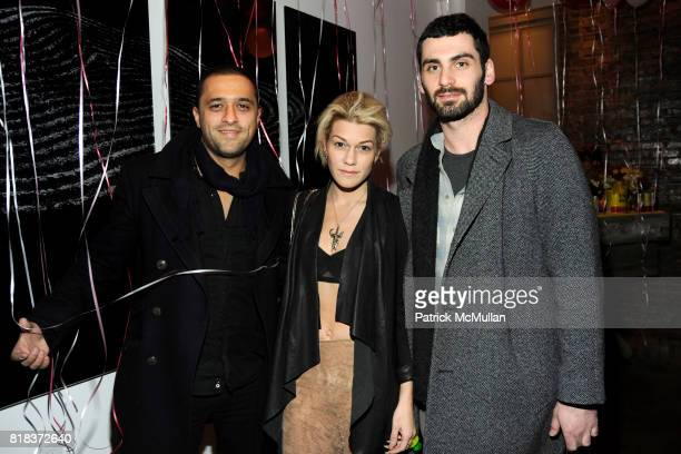 Ben Pundole and Jenne Lombardo attend MAC MILK host a Fashion Week Serenade at Milk Studios on February 14 2010 in New York City