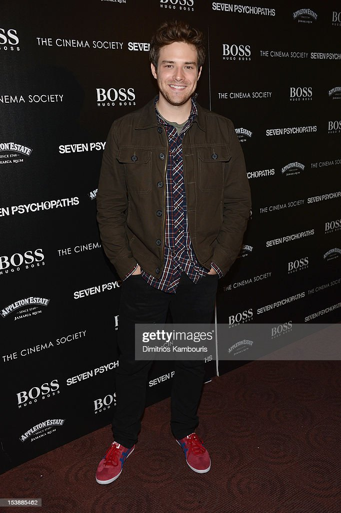 Ben Rappaport attends The Cinema Society with Hugo Boss and Appleton Estate screening of 'Seven Psychopaths' at Clearview Chelsea Cinemas on October 10, 2012 in New York City.