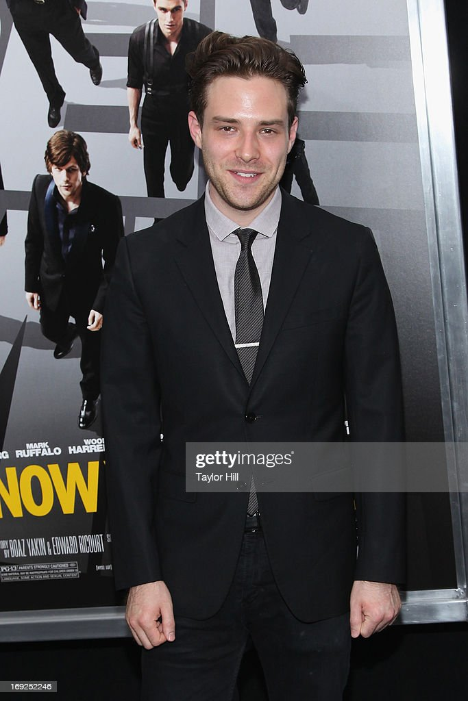 <a gi-track='captionPersonalityLinkClicked' href=/galleries/search?phrase=Ben+Rappaport&family=editorial&specificpeople=6964716 ng-click='$event.stopPropagation()'>Ben Rappaport</a> attends the 'Now You See Me' premiere at AMC Lincoln Square Theater on May 21, 2013 in New York City.