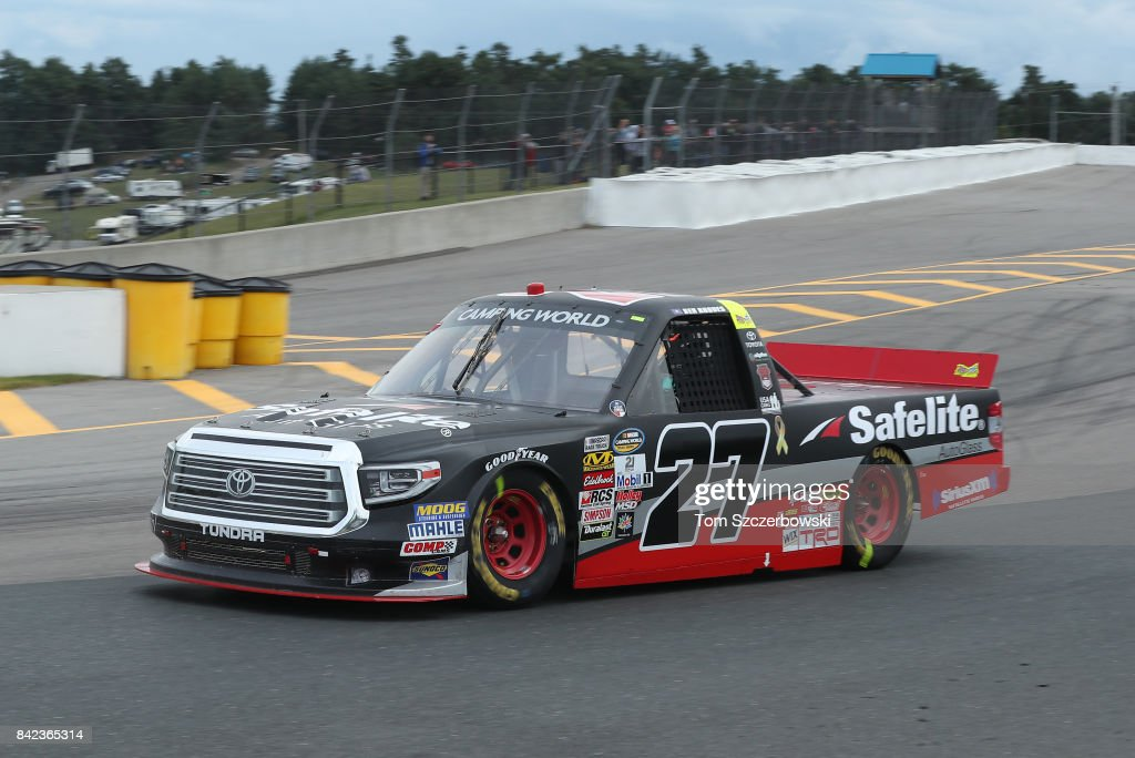 Ben Rhodes Driver Of The Safelite Auto Glass Toyota Drives At Canadian Tire  Mosport Park On