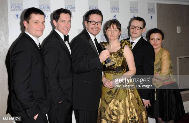 Ben Ringham Bertie Carvel Alexi Kaye Campbell Soutra Gilmour Max Rineham and Lyndsey Marshal win Outstanding Achievement in an Affiliate Theatre...