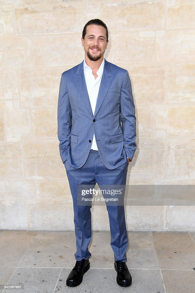Ben Robson attends the Louis Vuitton Menswear Spring/Summer 2017 show as part of Paris Fashion Week on June 23, 2016 in Paris, France.