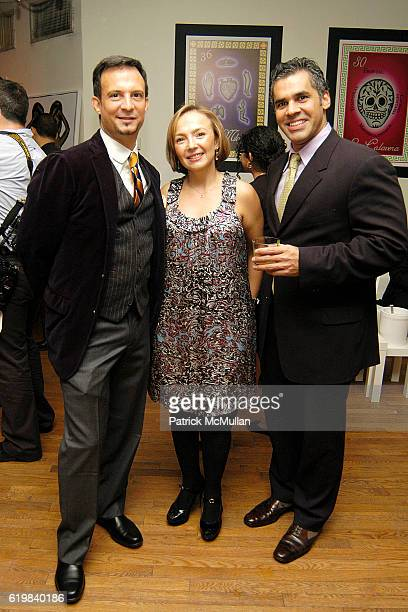 Ben Rodriguez Cubenas Mayra Hernandez and attend El Museo's Young International Circle Celebrates Loteria at The Westside Loft on October 24 2008 in...