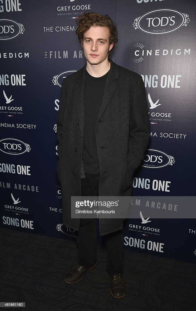 Ben Rosenfield attends the premiere of the Film Arcade & Cinedigm's 'Song One' hosted by the Cinema Society & Tod's at Landmark's Sunshine Cinema on January 20, 2015 in New York City.