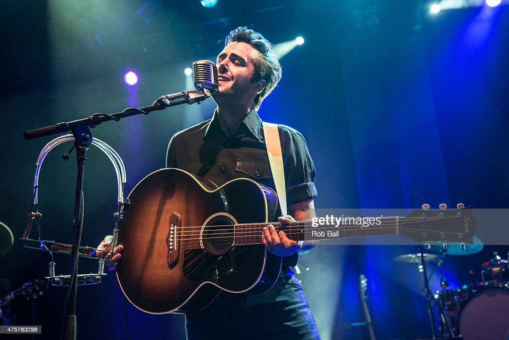 Ben Schneider of Lord Huron performs at KOKO on June 3 2015 in London United Kingdom