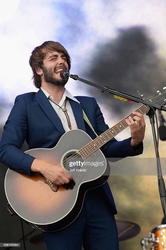 Ben Schneider of Lord Huron performs onstage during 2016 Governors Ball Music Festival at Randall's Island on June 4 2016 in New York City