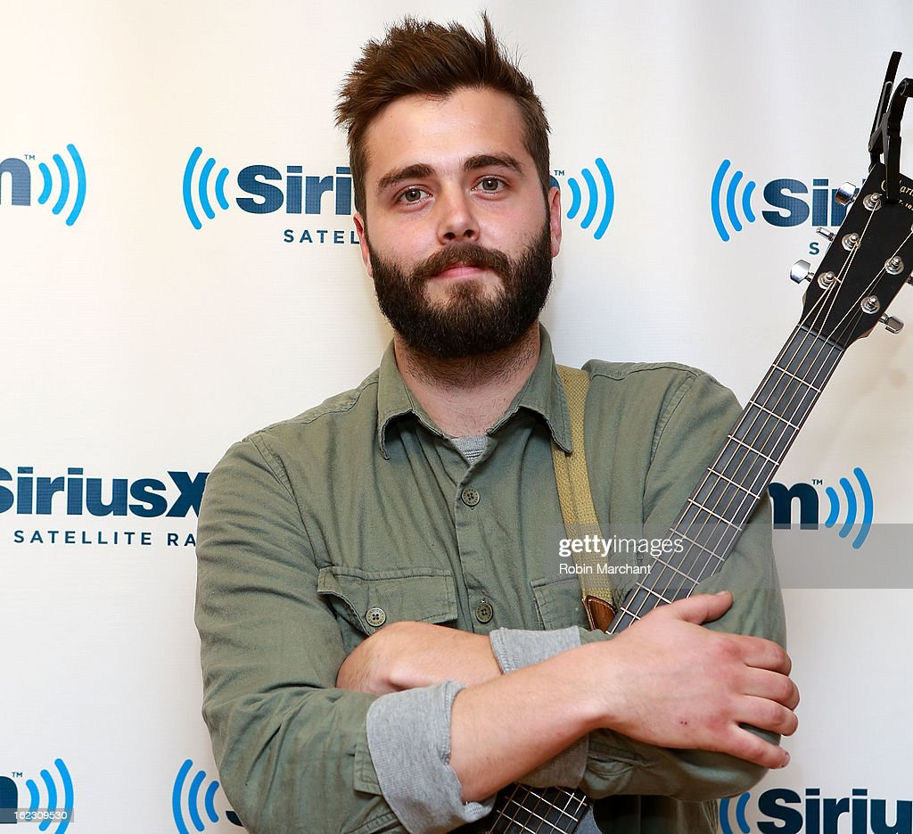 Ben Schneider of Lord Huron visits at SiriusXM Studios on February 21 2013 in New York City