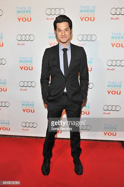 Ben Schwartz attends 'This Is Where I Leave You' PostScreening Event Presented By Audi Canada 2014 Toronto International Film Festival at Cluny...