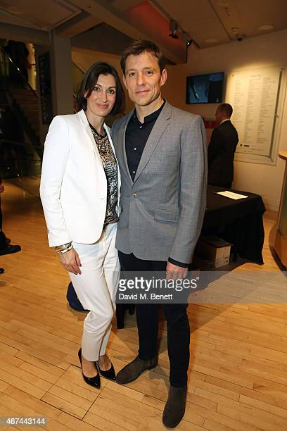 Ben Shephard and wife Annie Perks attend the after party following the press night performance of 'Northern Ballet's The Great Gatsby' at Sadler's...