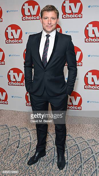 Ben Shephard arrives for the TVChoice Awards at The Dorchester on September 5 2016 in London England