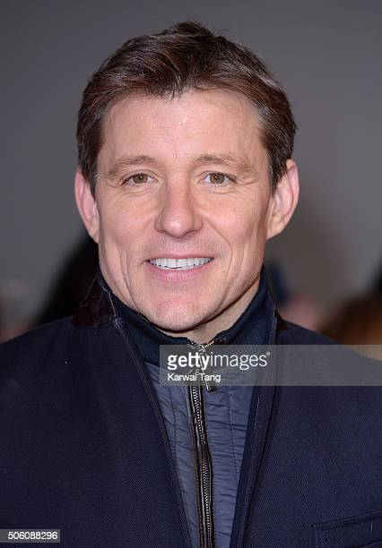 Ben Shephard attends the 21st National Television Awards at The O2 Arena on January 20 2016 in London England