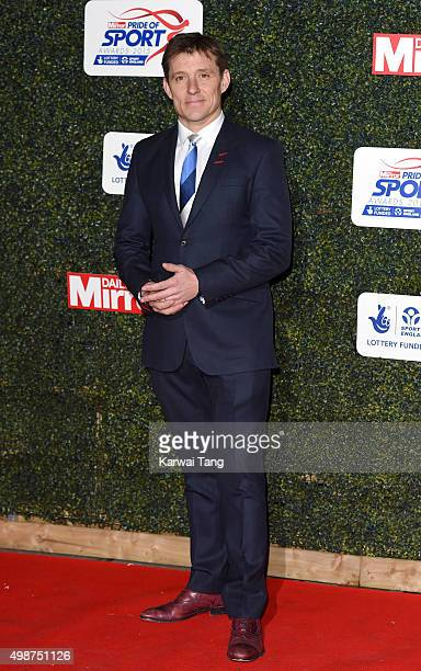 Ben Shephard attends the Daily Mirror Pride Of Sport Awards at Grosvenor House on November 25 2015 in London United Kingdom
