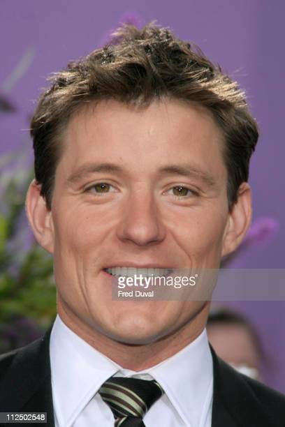 Ben Shephard during 2005 British Soap Awards Arrivals at BBC Television Centre in London Great Britain