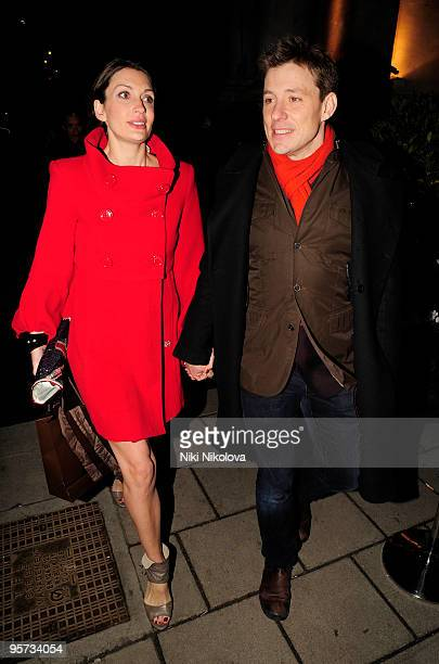 Ben Shephard sighting on January 12 2010 in London England