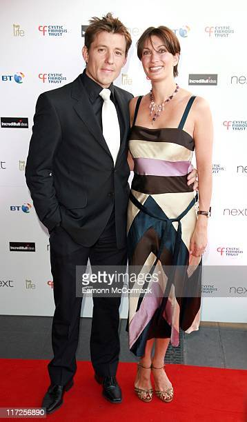 Ben Shepherd and his wife during Cystic Fibrosis Trust Breathing Life Awards – Red Carpet Arrivals at Hilton London Metropole in London Great Britain
