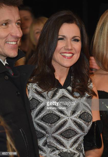 Ben Shepherd and Susanna Reid attends the National Television Awards on January 25 2017 in London United Kingdom