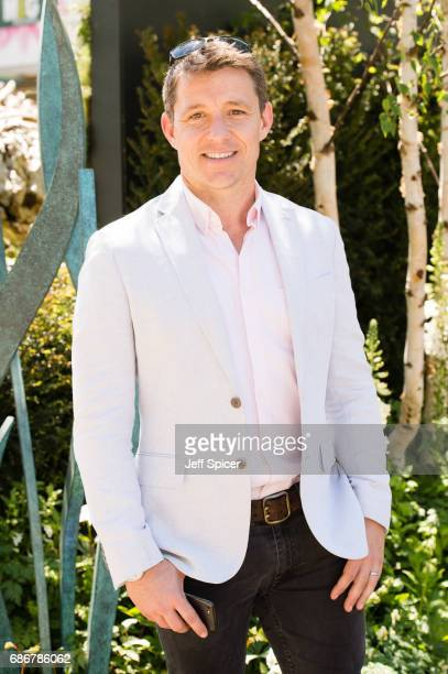 Ben Shepherd attends RHS Chelsea Flower Show press day at Royal Hospital Chelsea on May 22 2017 in London England