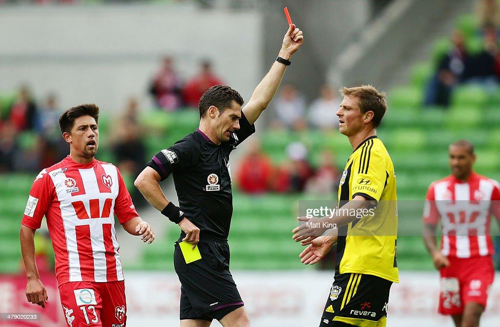A-League Rd 23 - Melbourne Heart v Wellington Phoenix