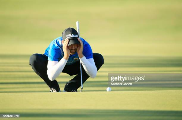 Ben Silverman during the second round of the Webcom Tour Championship held at Atlantic Beach Country Club on September 29 2017 in Atlantic Beach...