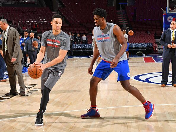 New York Knicks v Philadelphia 76ers : News Photo