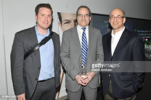 Ben Smith Dan Castleman and Peter Elkind attend TIME INC Live and Unfiltered Presents ROUGH JUSTICE Hosted by FORTUNE at Time and Life Building...