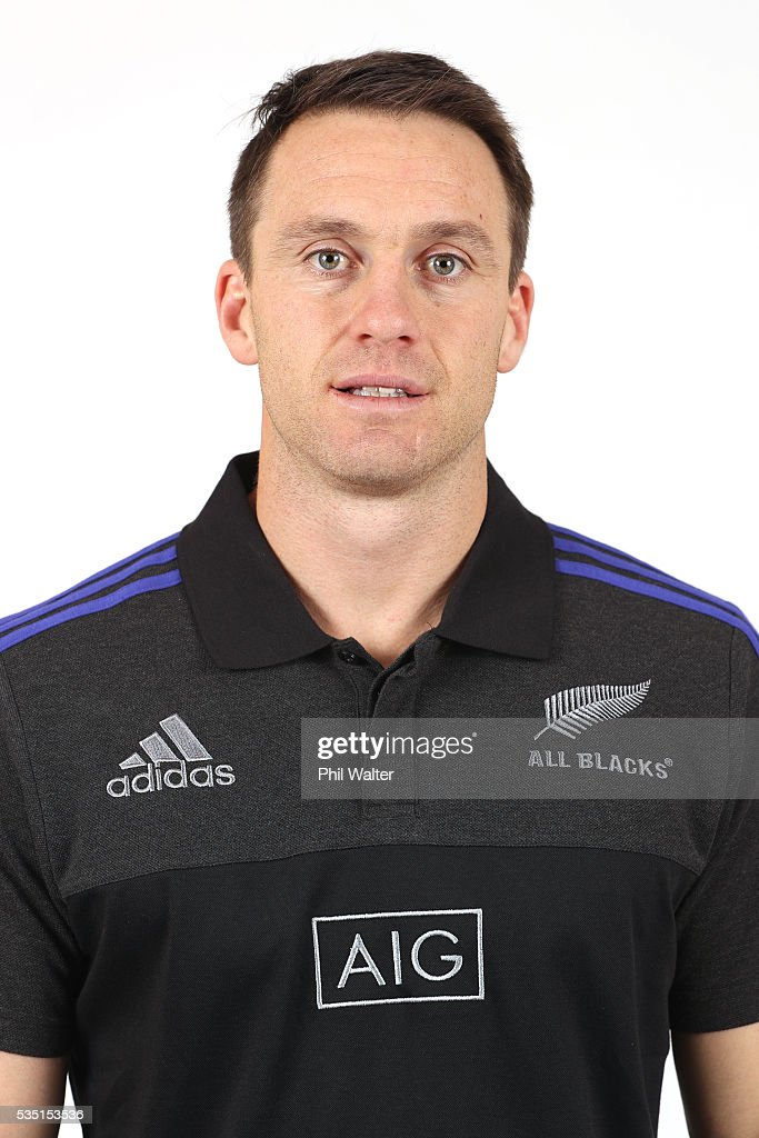<a gi-track='captionPersonalityLinkClicked' href=/galleries/search?phrase=Ben+Smith+-+Rugby+Union+Player&family=editorial&specificpeople=11650283 ng-click='$event.stopPropagation()'>Ben Smith</a> of the All Blacks poses for a portrait during a New Zealand All Black portrait session on May 29, 2016 in Auckland, New Zealand.