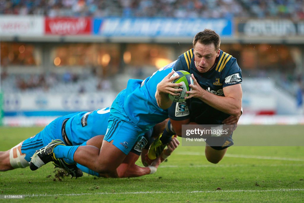 Super Rugby Rd 1 - Blues v Highlanders