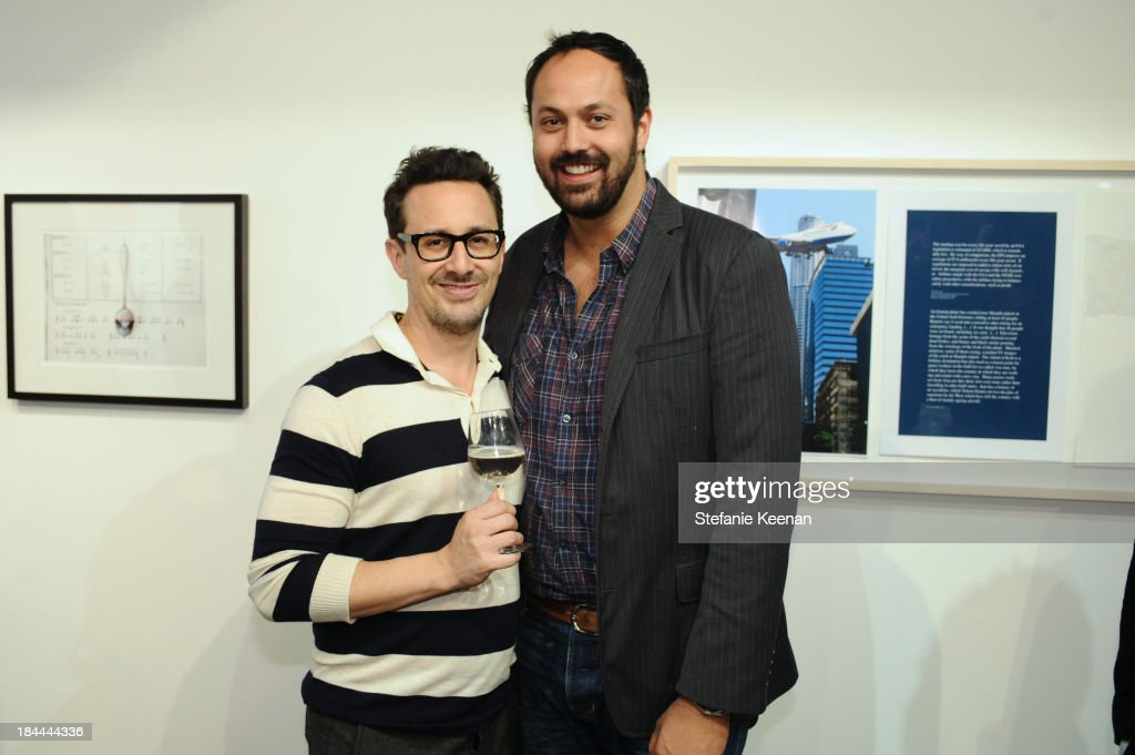 Ben Spector and Justin Gilanyi attend The Mistake Room's Benefit Auction on October 13, 2013 in Los Angeles, California.