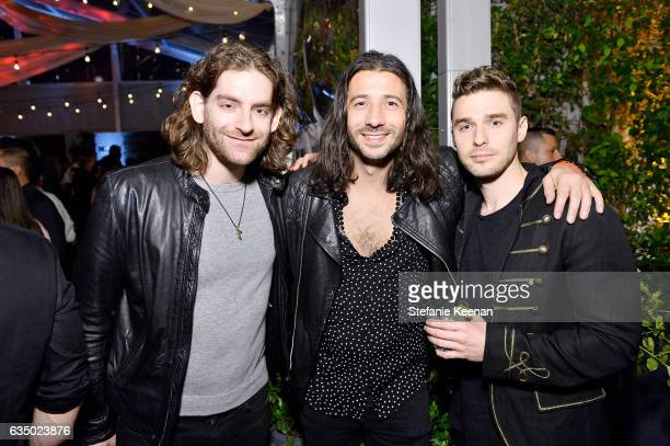 Ben Spivak Nasri Atweh and Nick Noonan attend Red Light Management 2017 Grammy After Party on February 12 2017 in West Hollywood California