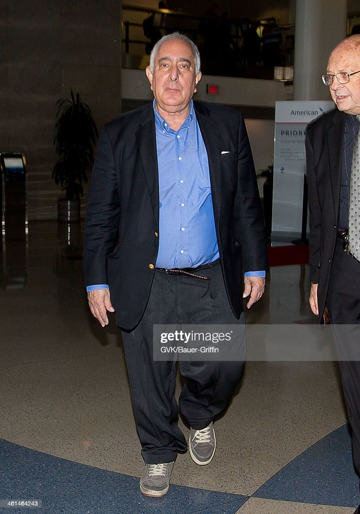 Ben Stein is seen at LAX airport on January 08, 2014 in Los Angeles, California.