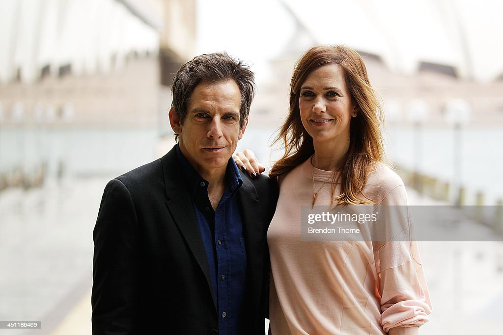 <a gi-track='captionPersonalityLinkClicked' href=/galleries/search?phrase=Ben+Stiller&family=editorial&specificpeople=201806 ng-click='$event.stopPropagation()'>Ben Stiller</a> and <a gi-track='captionPersonalityLinkClicked' href=/galleries/search?phrase=Kristen+Wiig&family=editorial&specificpeople=4029391 ng-click='$event.stopPropagation()'>Kristen Wiig</a> pose during 'The Secret Life of Walter Mitty' photo call at the Park Hyatt on November 22, 2013 in Sydney, Australia.