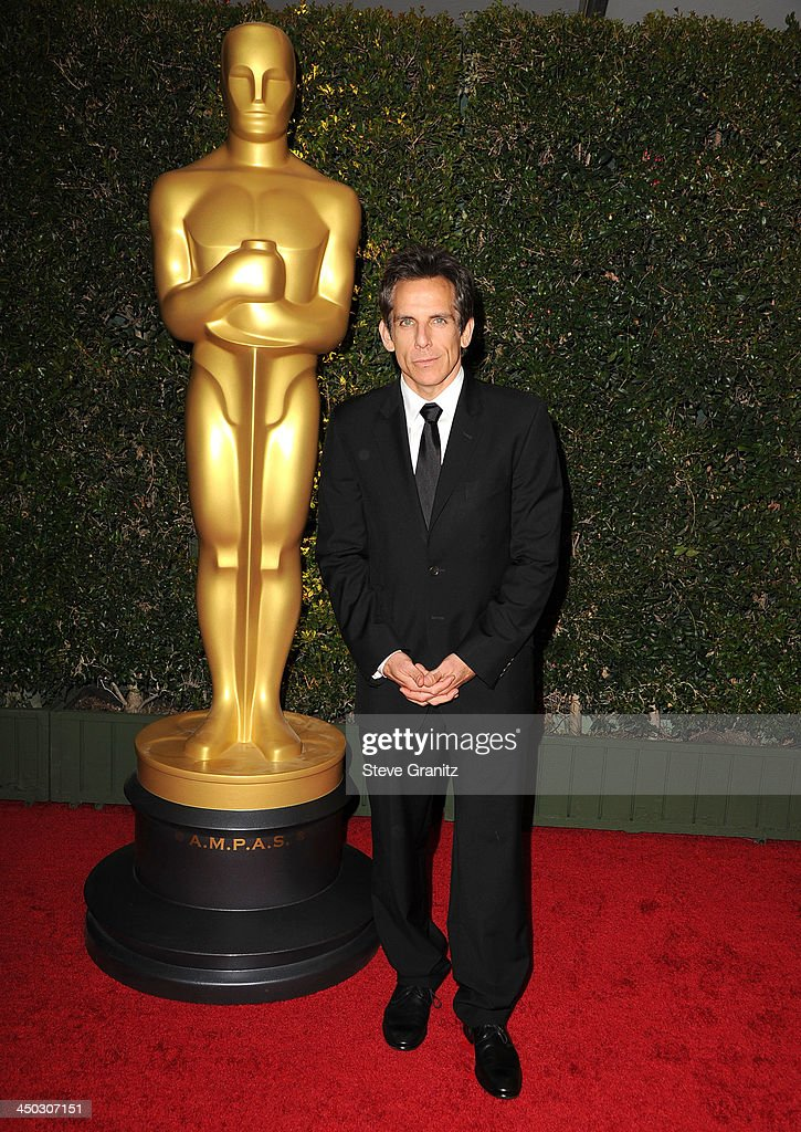 <a gi-track='captionPersonalityLinkClicked' href=/galleries/search?phrase=Ben+Stiller&family=editorial&specificpeople=201806 ng-click='$event.stopPropagation()'>Ben Stiller</a> arrives at the The Board Of Governors Of The Academy Of Motion Picture Arts And Sciences' Governor Awards at Dolby Theatre on November 16, 2013 in Hollywood, California.
