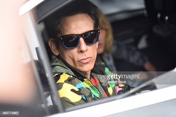 Ben Stiller arrives at Valentino Fashion Show during Paris Fashion Week Fall Winter 2015/2016 on March 10 2015 in Paris France