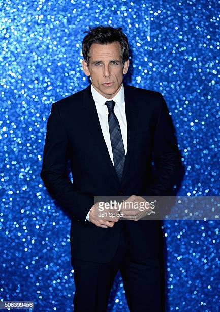 Ben Stiller attends a London Fan Screening of the Paramount Pictures film 'Zoolander No 2' at Empire Leicester Square on February 4 2016 in London...