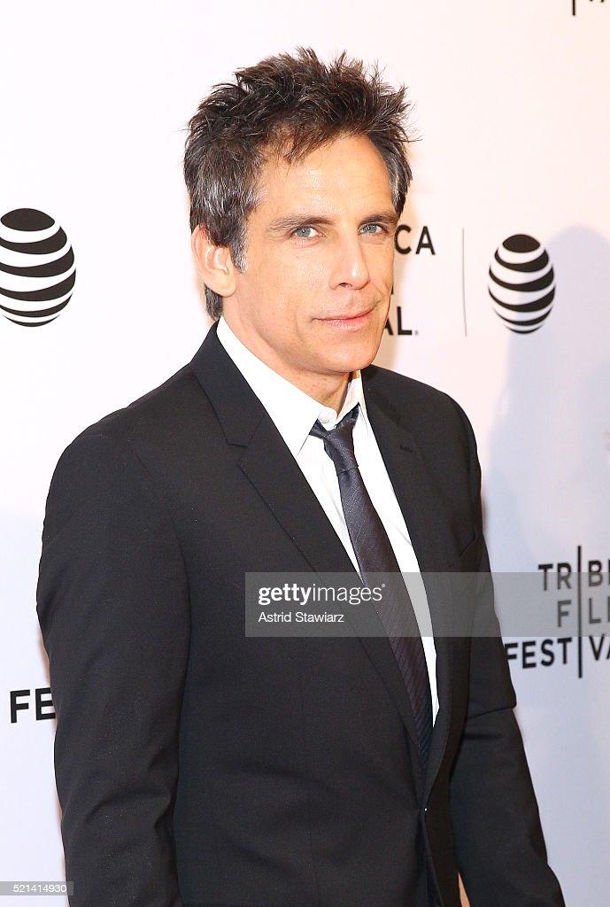 Ben Stiller attends 'Little Boxes' Premiere - 2016 Tribeca Film Festival at Chelsea Bow Tie Cinemas on April 15, 2016 in New York City.