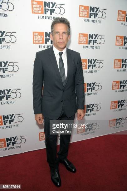 Ben Stiller attends 'Meyerowitz Stories' screening during the 55th New York Film Festival at Alice Tully Hall on October 1 2017 in New York City