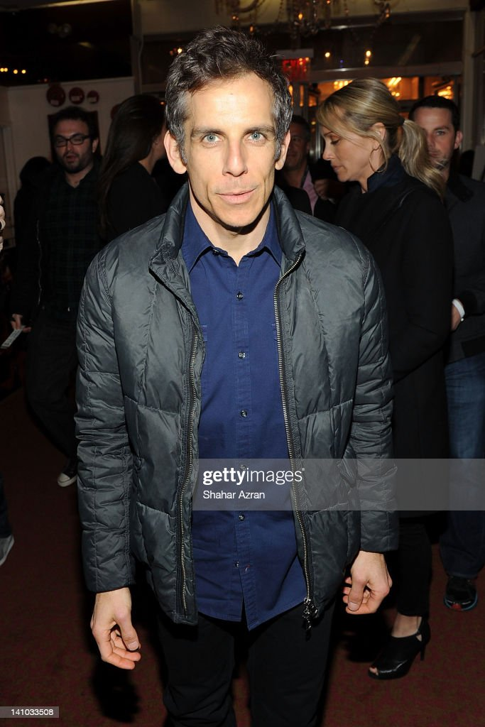 Ben Stiller attends SiriusXM's concert celebrating 10 years of satellite radio at The Apollo Theater on March 9 2012 in New York City