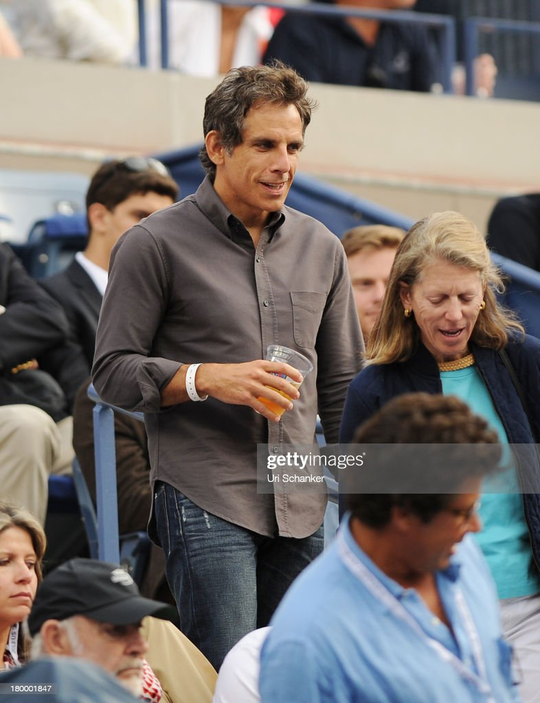 <a gi-track='captionPersonalityLinkClicked' href=/galleries/search?phrase=Ben+Stiller&family=editorial&specificpeople=201806 ng-click='$event.stopPropagation()'>Ben Stiller</a> attends the 2013 US Open at USTA Billie Jean King National Tennis Center on September 7, 2013 in New York City.