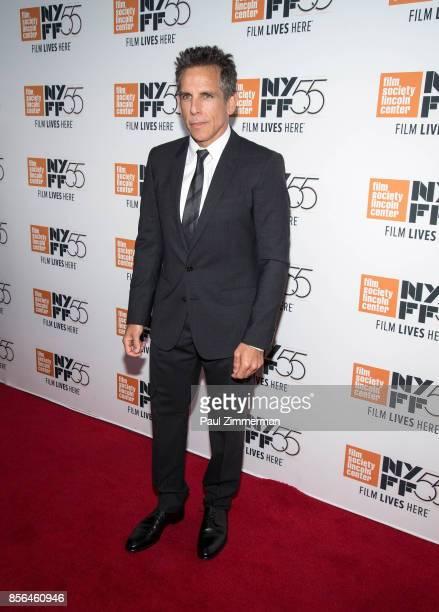 Ben Stiller attends the 55th New York Film Festival 'Meyerowitz Stories' at Alice Tully Hall on October 1 2017 in New York City