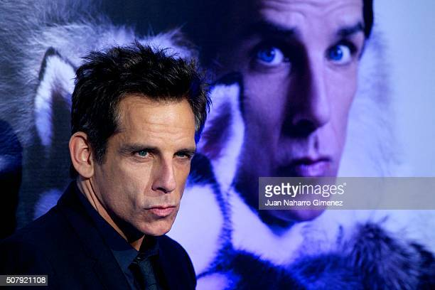 Ben Stiller attends the Madrid Fan Screening of the Paramount Pictures film 'Zoolander No 2' at the Capitol Theater on February 1 2016 in Madrid Spain