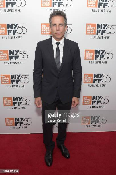 Ben Stiller attends the New York Film Festival premiere of The Meyerowitz Stories at Alice Tully Hall on October 1 2017 in New York City