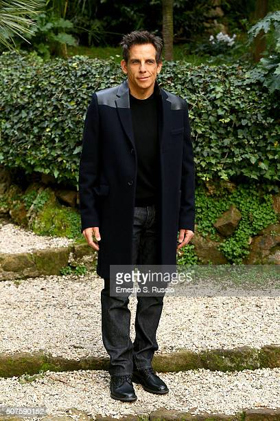 Ben Stiller attends the Photocall for the Fan Screening of the Paramount Pictures film 'Zoolander No 2' at 'Hotel De Russie Garden' on January 30...