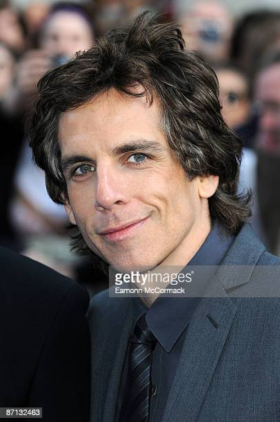 Ben Stiller attends the world premiere of 'Night at the Museum 2' at Empire Leicester Square on May 12 2009 in London England