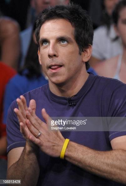 Ben Stiller during Ben Stiller Paris Hilton and Lil' Jon Visit MTV's 'TRL' June 15 2004 at MTV Studios in New York City New York United States