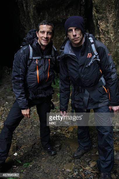 GRYLLS 'Ben Stiller' Episode 104 Pictured Bear Grylls Ben Stiller