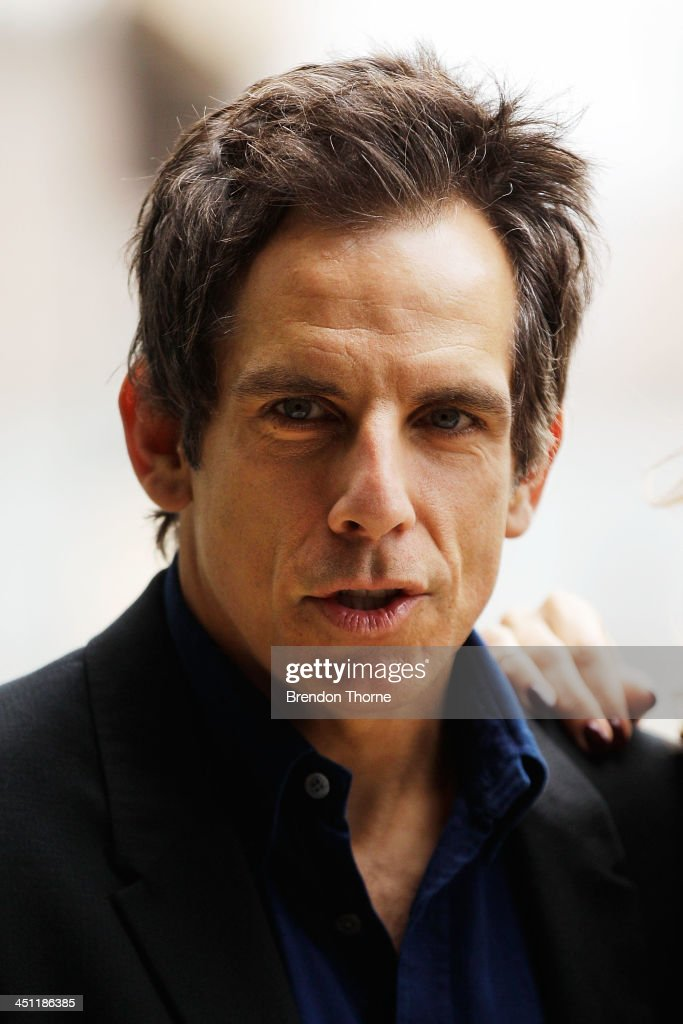 <a gi-track='captionPersonalityLinkClicked' href=/galleries/search?phrase=Ben+Stiller&family=editorial&specificpeople=201806 ng-click='$event.stopPropagation()'>Ben Stiller</a> poses during 'The Secret Life of Walter Mitty' photo call at the Park Hyatt on November 22, 2013 in Sydney, Australia.