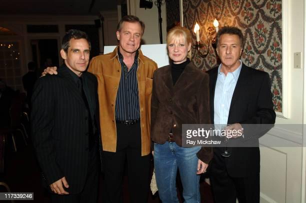 Ben Stiller Stephen Collins Bonnie Hunt and Dustin Hoffman